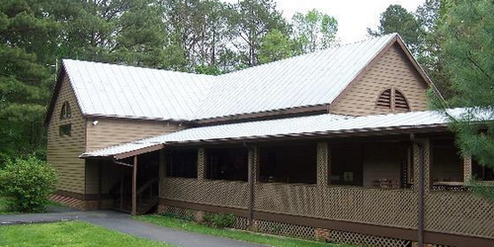 Visitor Center at Red Clay State Historic Park – State Photo