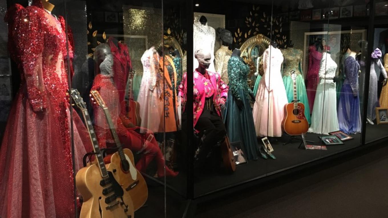 Just a few items on display at the 18,000 Sq. ft. museum at Loretta Lynn Ranch. – Loretta Lynn Ranch