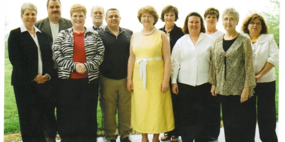 Some of Keep Cocke County's Board of Directors at a fundraiser