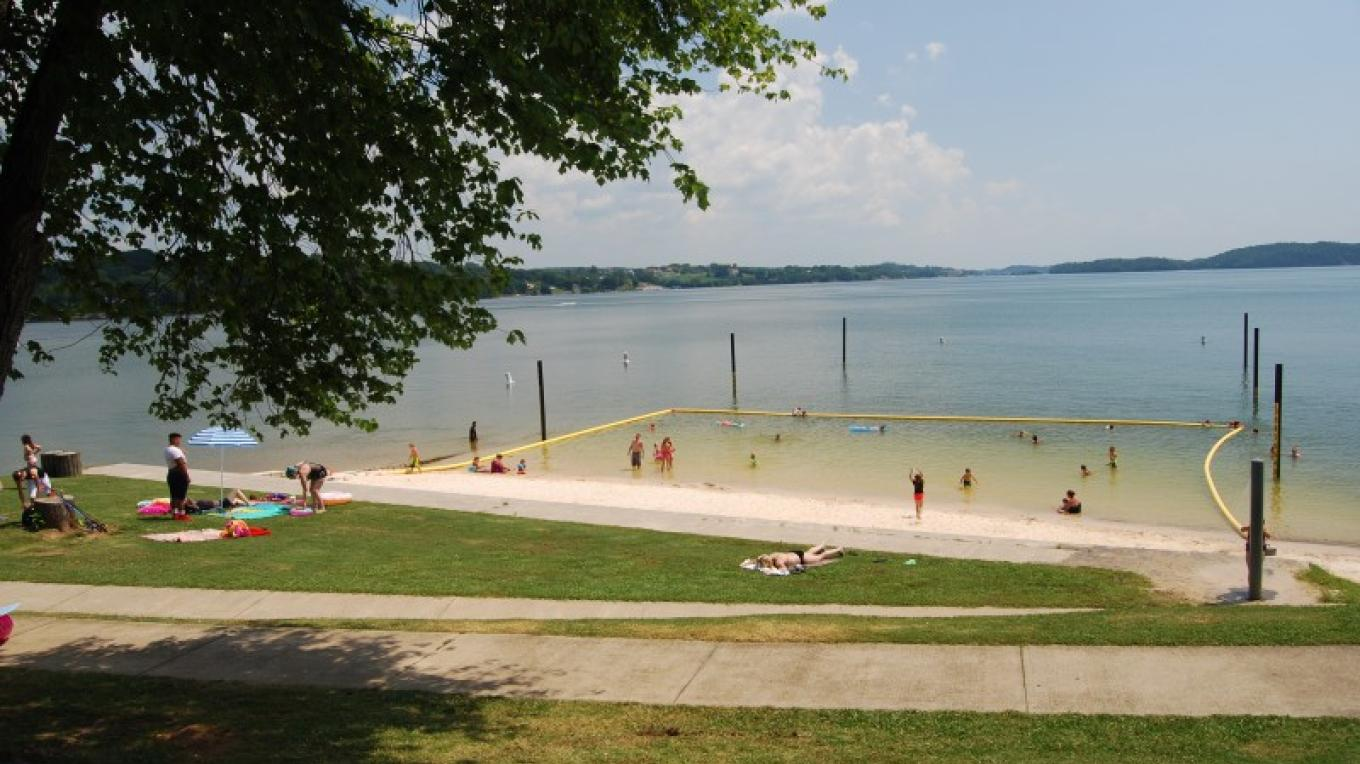 Swimming area – TVA