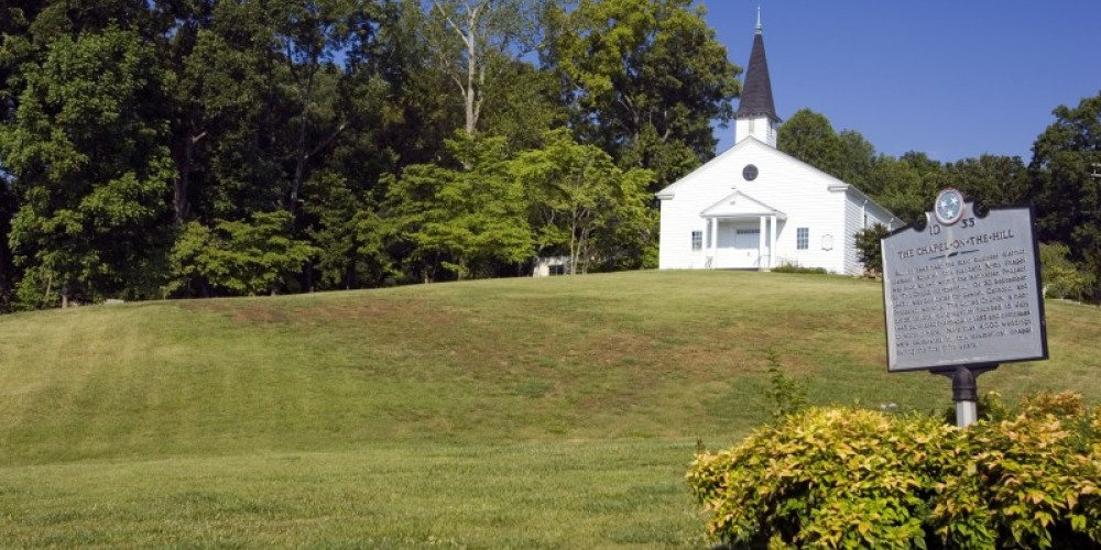 The Chapel on the Hill, a historic church dating back to the Manhattan Project days – Murray Lee, TN State Photo Services