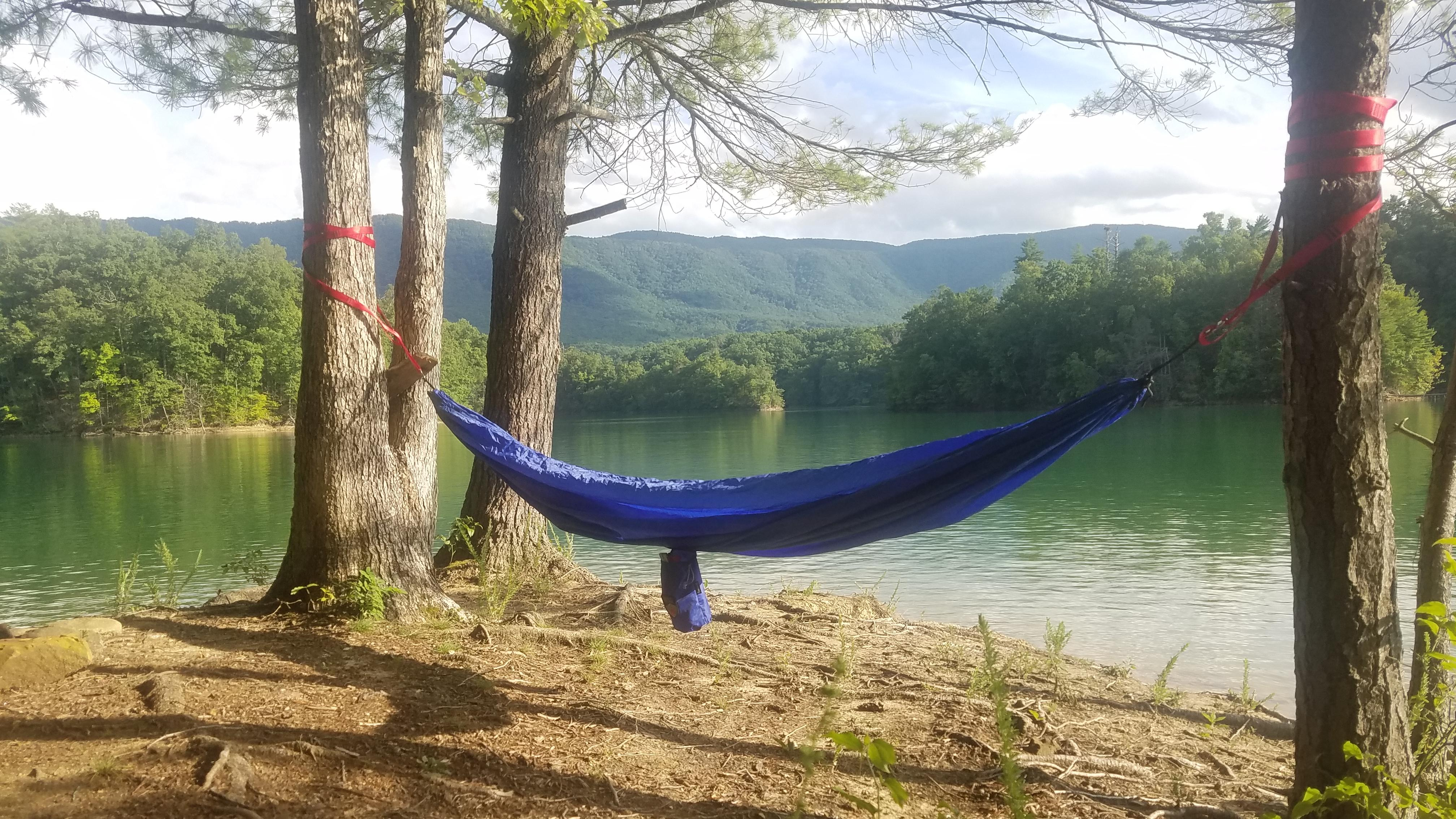 Numerous primitive campsites dotting the inlets, islands and points of Lake SoHo allow for overnight stopovers in the presence of stunning views.