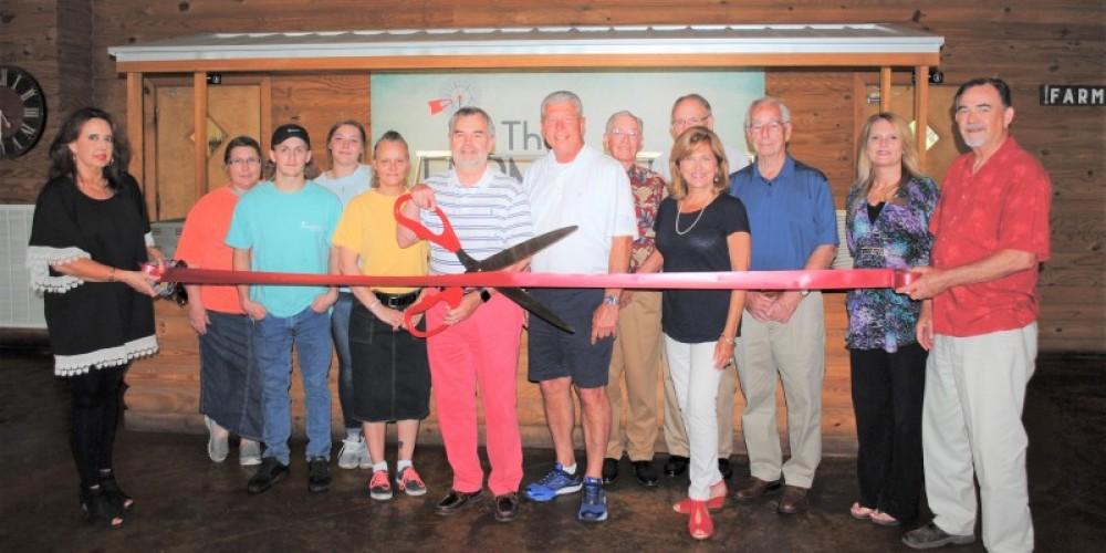 Ribbon Cutting , Grand Opening Ceremony – Gary Mathews