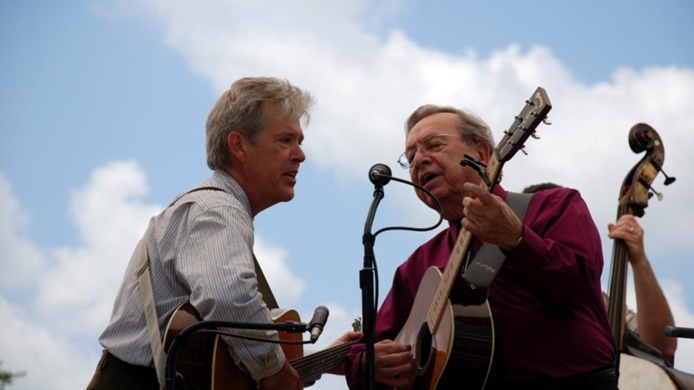 Bluegrass harmonies at Louie Bluie – Bob Fulcher