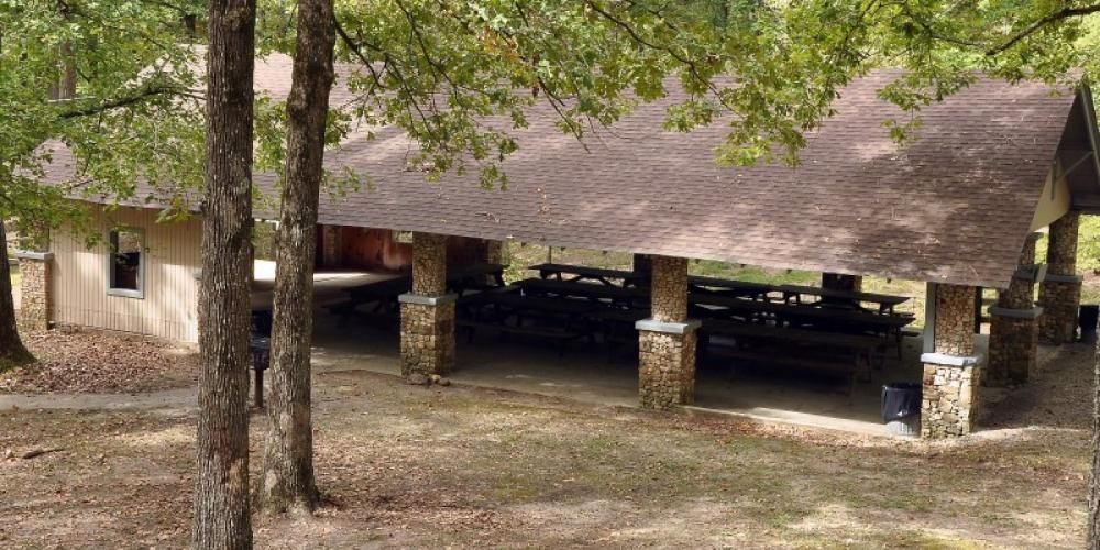 Five picnic pavilions are available and may be reserved up to two years in advance. Several of these offer playgrounds, volleyball, horseshoes, and more. – Jean Owens