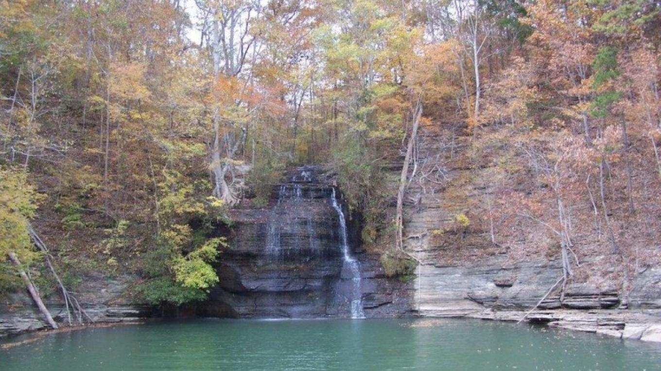 Cooper Falls – Courtesy of Tishomingo Tourism