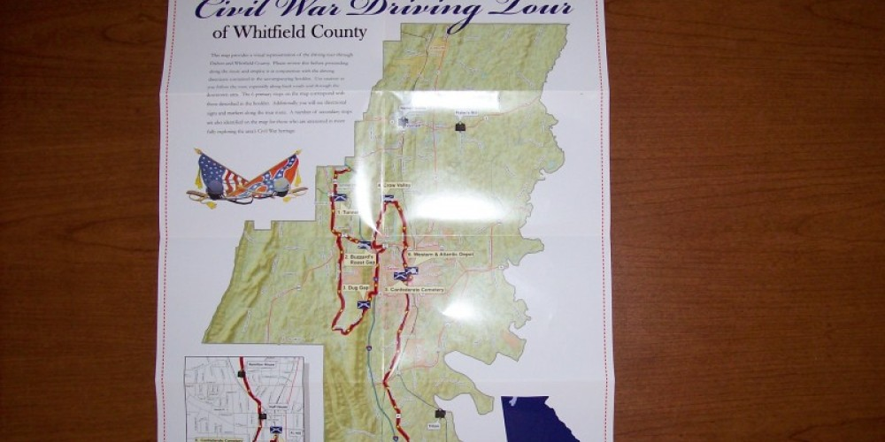 War Comes To Dalton - Driving Tour Map – Ty Snyder