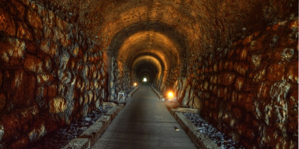 Inside view of the Historic Western & Atlantic Tunnel – Gary Keeble