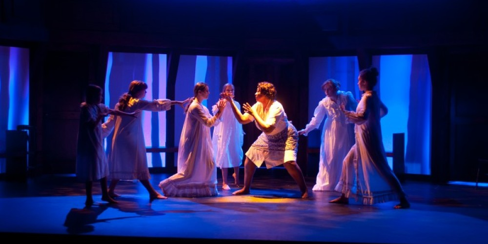 From the Chattanooga Theatre Centre production of THE CRUCIBLE – Brad Cansler