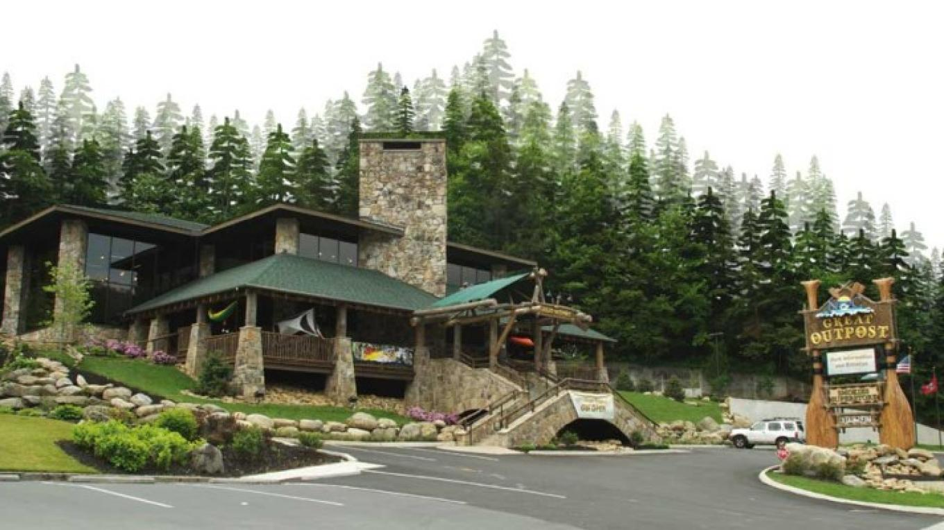 NOC's Great Outpost is located next door to the Gatlinburg entrance of Great Smoky Mountains National Park. – Pat McDonnell