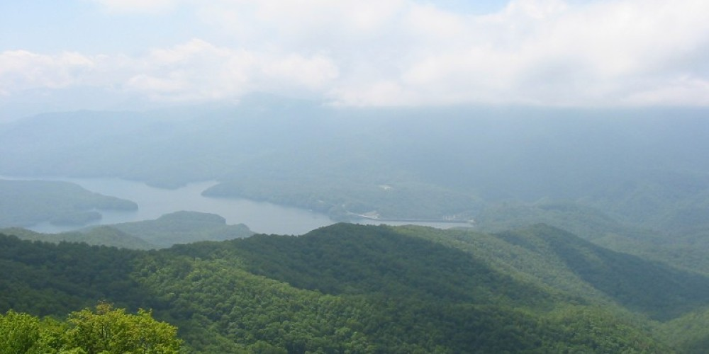 A view from the Appalachian Trail near Shuckstack fire tower. – NPS