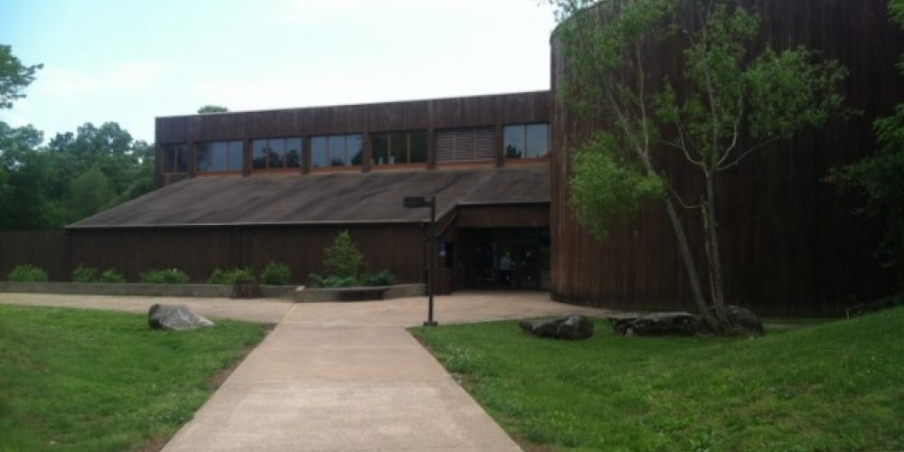 The Golden Pond Visitor Center welcomes guests and contains an interpretive display of the history of Land Between the Lakes National Recreation Area. – Land Between the Lakes staff