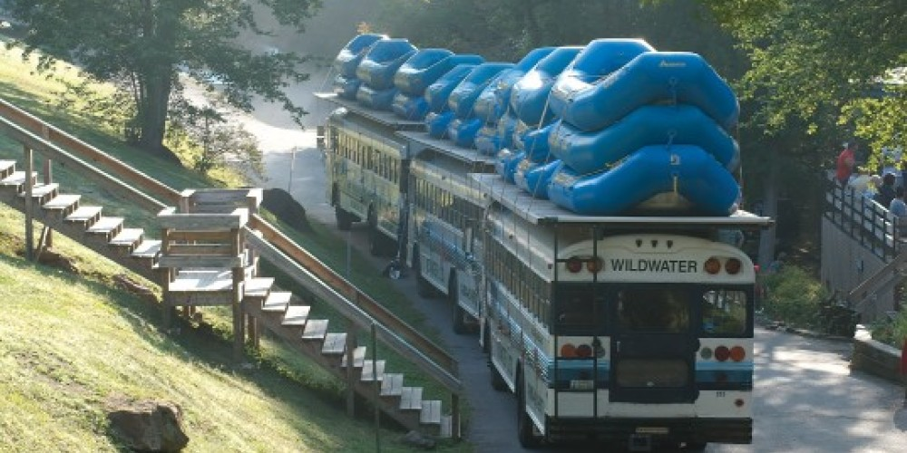 Ready for a day on the river – Wildwater Adventure Centers