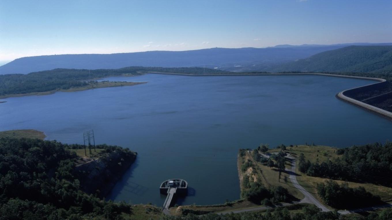 Reservoir on top of Raccoon Mountain – TVA