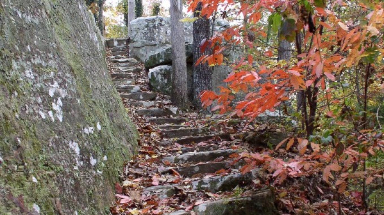 Climbing trail – Tishomingo Tourism
