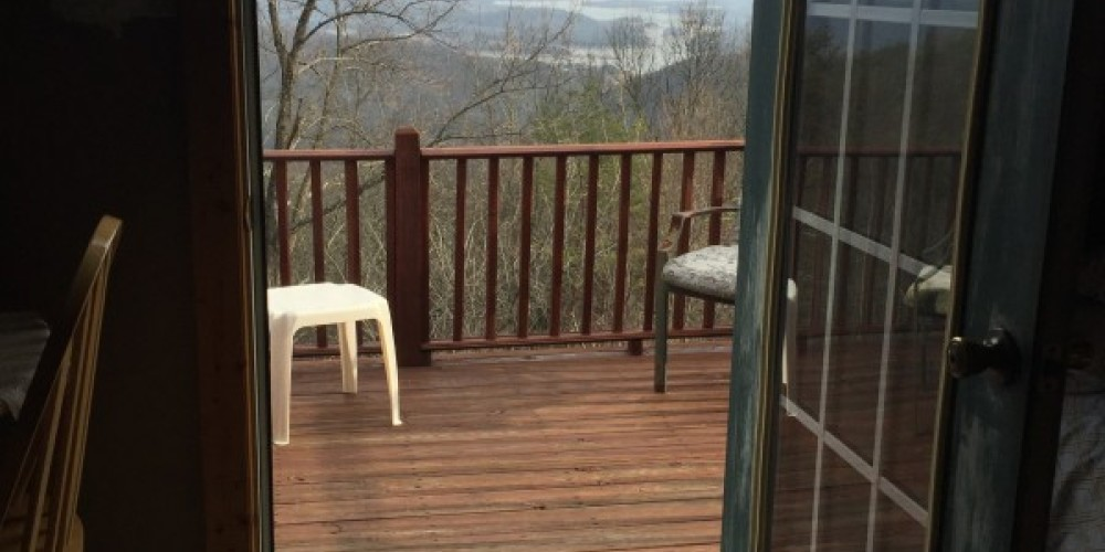 View from Sport Complex – Krystal's Clinch Mountain Cabins