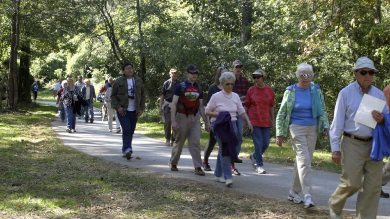 Walking the trail near the Faith Road Trail – Brian Smith
