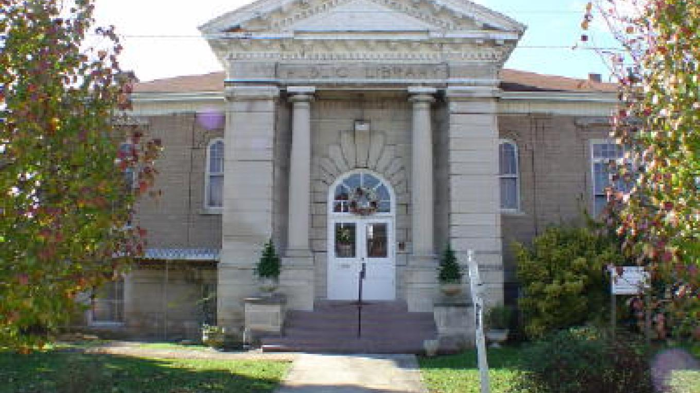Historic Carnegie Library in Harriman – Roane County Visitors Bureau