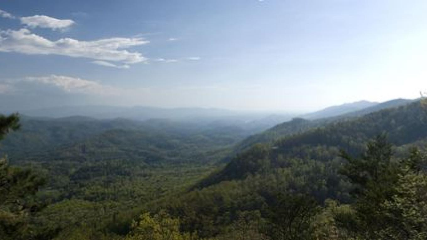 Panoramic View from Foothills Parkway - Blount County – Mark Lewis