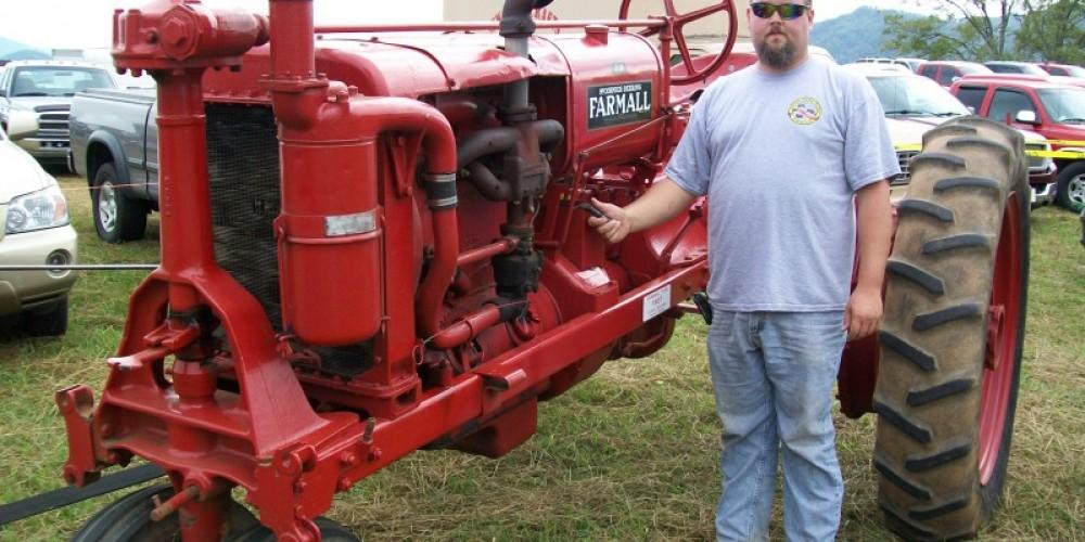 Antique tractors – Townsend Visitors Center
