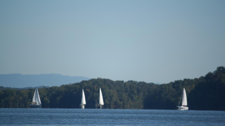 Sailing on Watts Bar Lake – Pam May