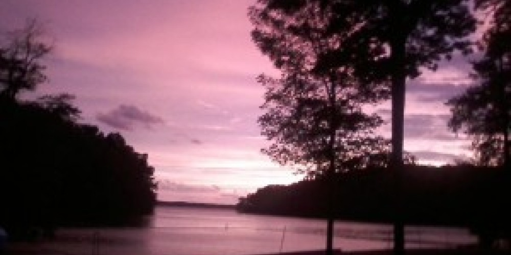 Sunset at Hillman Ferry Campground at Land Between the Lakes National Recreation Area – Land Between the Lakes staff