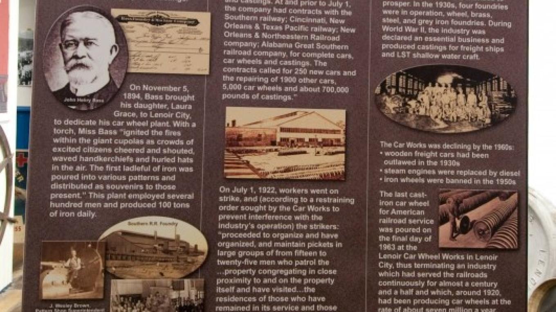 Lenoir City Museum - History Board – Klair Kimmey