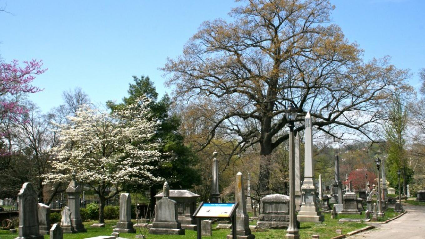 Old Gray Cemetery is part of the Civil War Heritage Trail – Alix Dempster