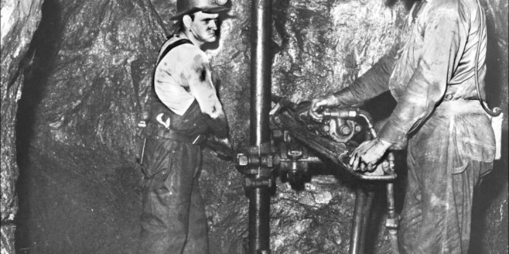 Miners circa 1950's - 1960's – Tennessee Copper Company