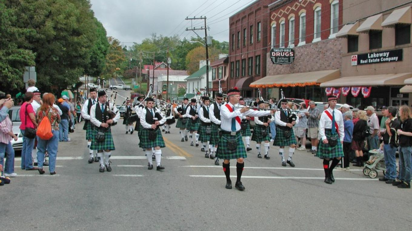 Annual Scots-Irish Festival last Saturday every September – Pat Garrow