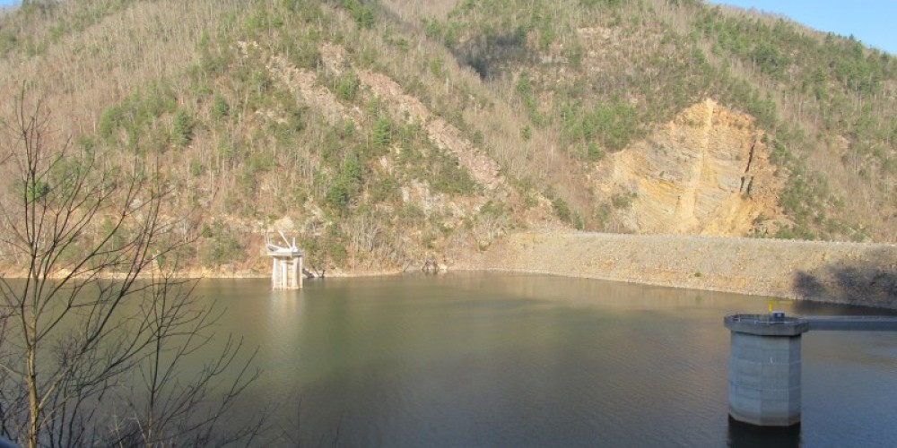 View from overlook: TVA