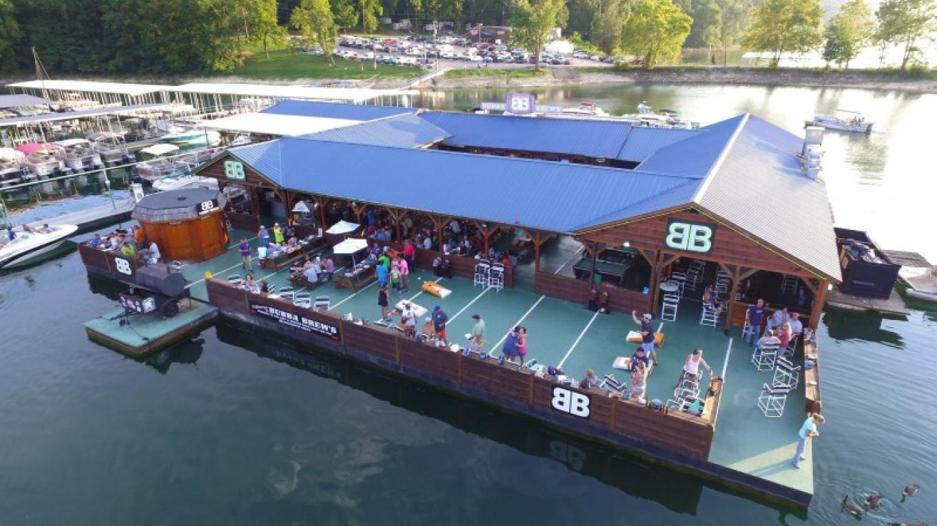 Welcome to Bubba Brew's At last! A place to kick back, right at Beach Island Marina, on beautiful Norris Lake. Don't leave Norris Lake without visiting Bubba Brew's Sports Pub and Grill, located next to Beach Island Marina at