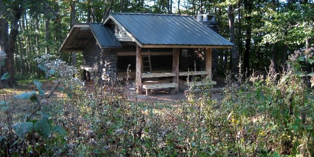 All people camping along the AT through the Smokies must camp in shelters like the one seen here. – NPS
