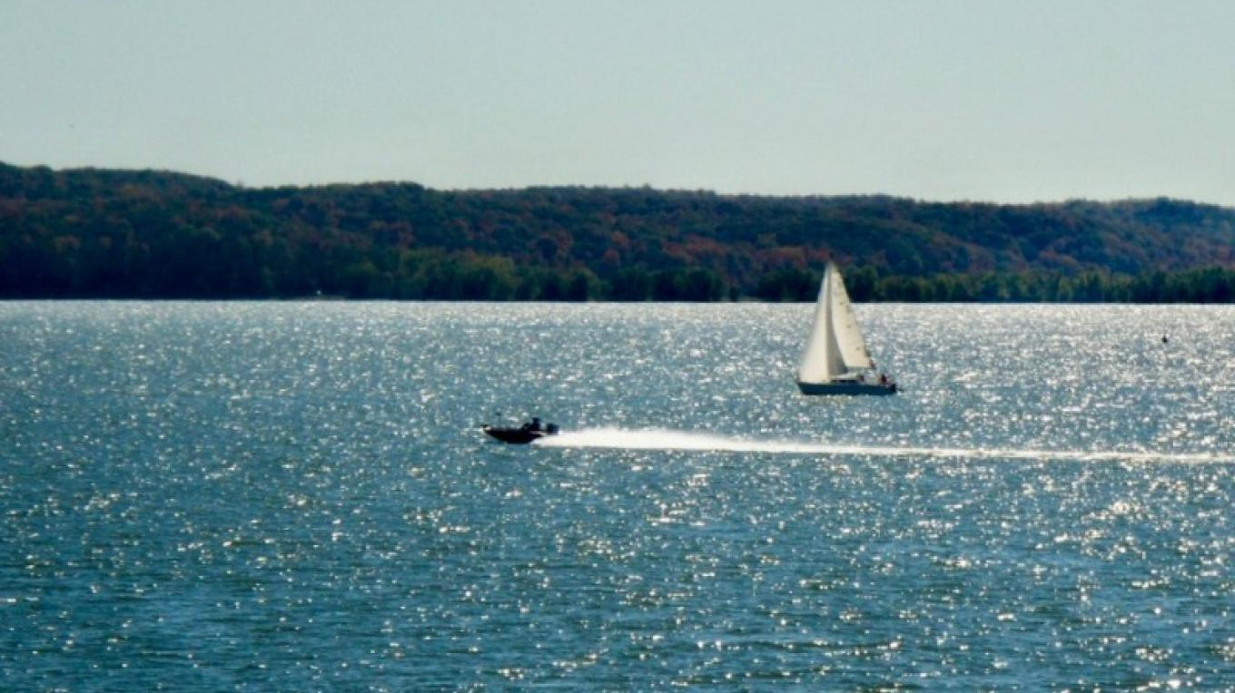 Wind, motor or paddle power - it really doesn't matter, as long as you're on the water! – Paris Landing State Park Photo