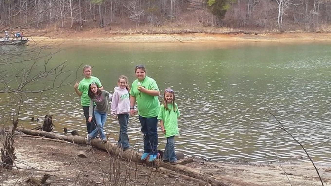 A family that fishes together ..... – Gary Mathews