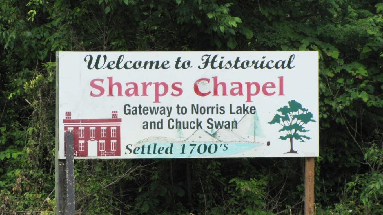 Gateway to Sharps Chapel – Leon Graves