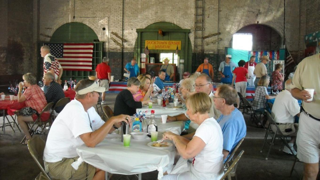 Pancake Breakfast at the Ducktown Basin Museum – Bobbie Morgan