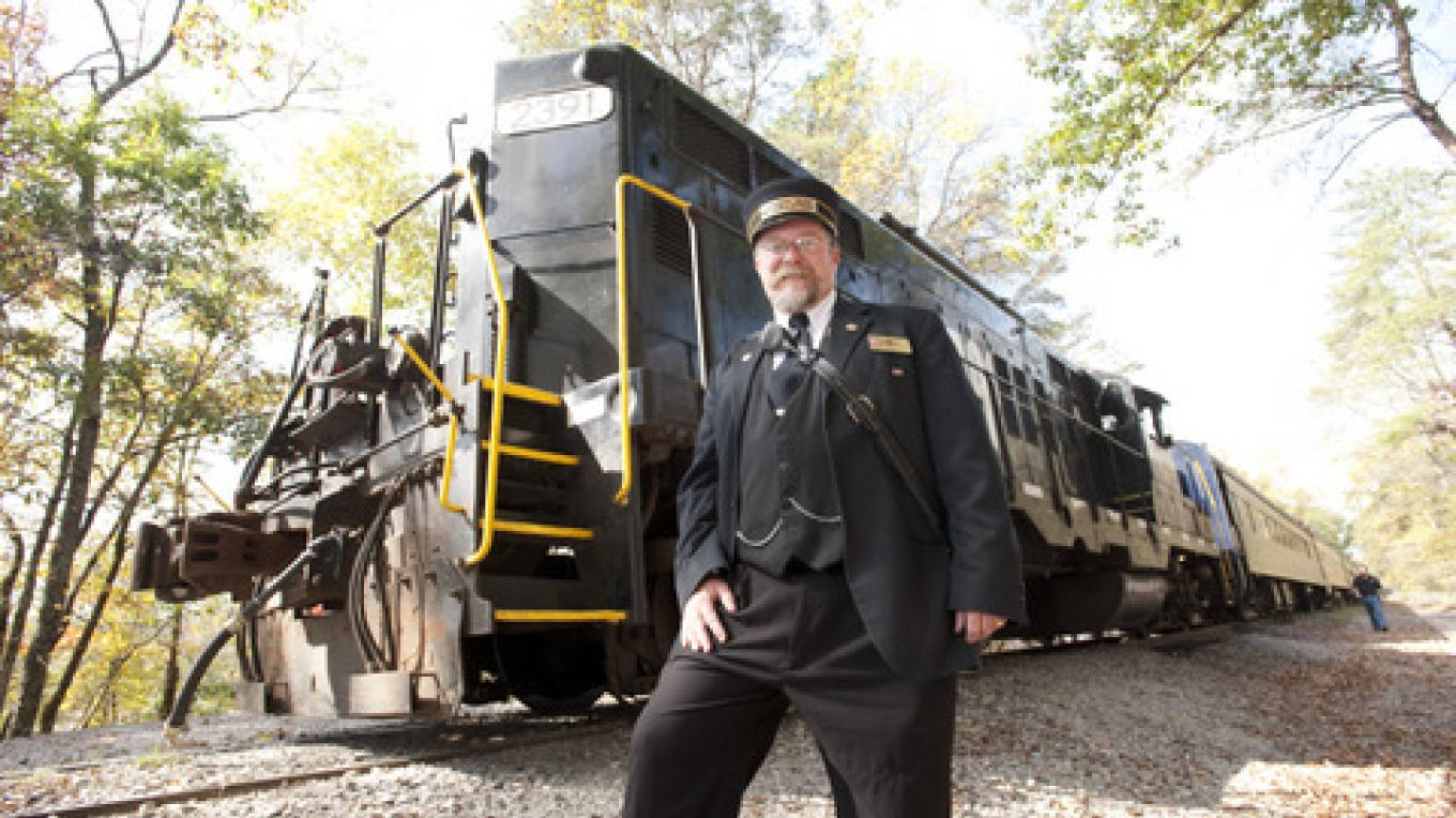 Train Conductor – TN State Photo Services