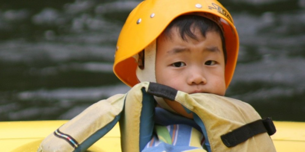 Here at Rafting in the Smokies we offer Float trips so that young adventurers can get their first taste of the river in a safe environment