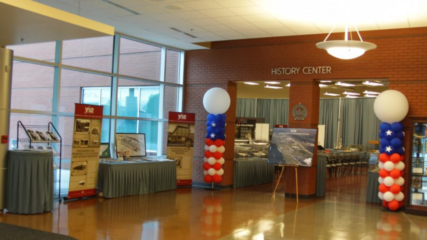 Y-12 History Center at the New Hope Center - 602 Scarboro Road, Oak Ridge, TN – Ray Smith