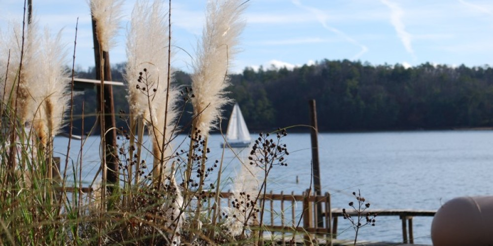 Parksville Lake with Sailboat – Jim Caldwell