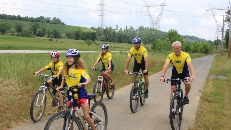 Bikers at Haw Ridge Park