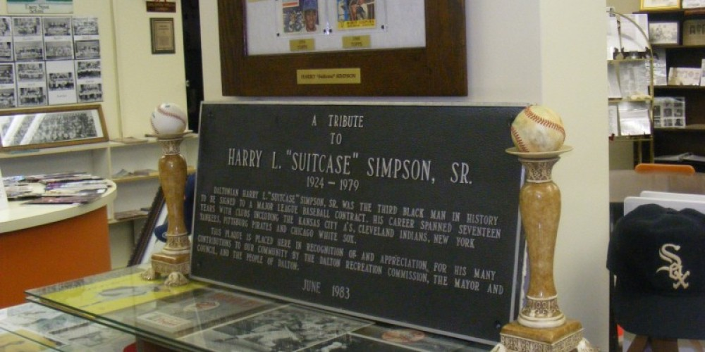 """Henry """"Suitcase"""" Simpson Display Case – Dionna Reynolds"""