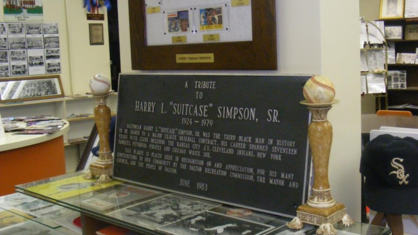 "Henry ""Suitcase"" Simpson Display Case – Dionna Reynolds"