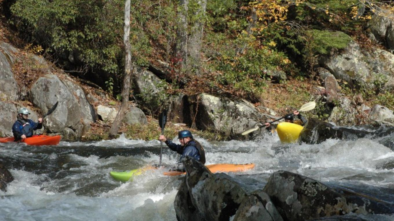 Kayakers on Tellico River – Jim Caldwell