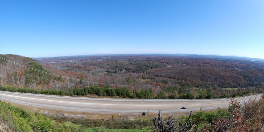 View from the mountain during fall. – Scott Somershoe