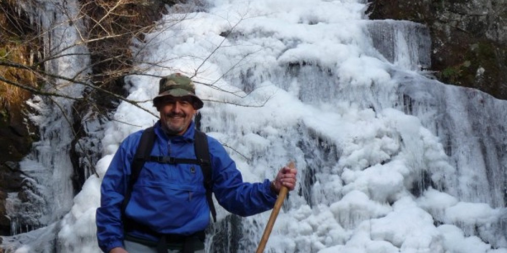 Winter Waterfall Hike – Townsend Visitors Center