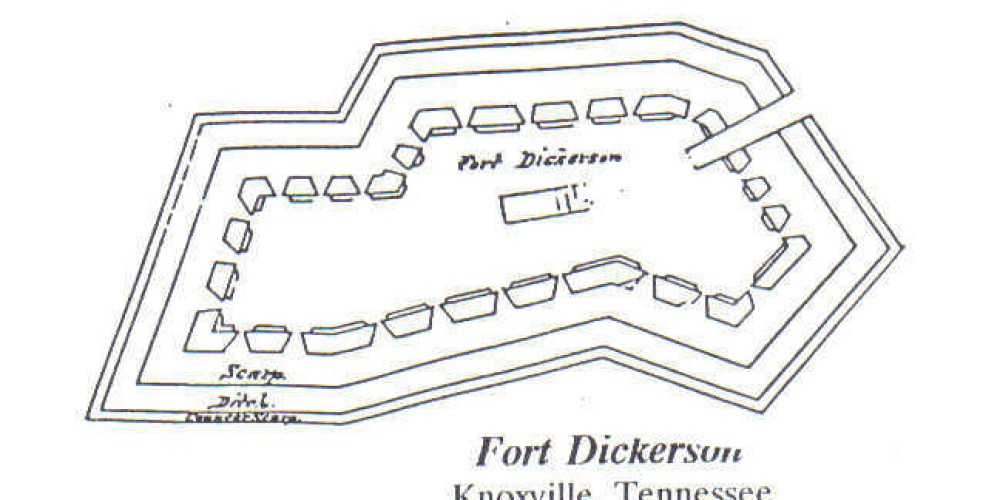 Fort Dickerson plan