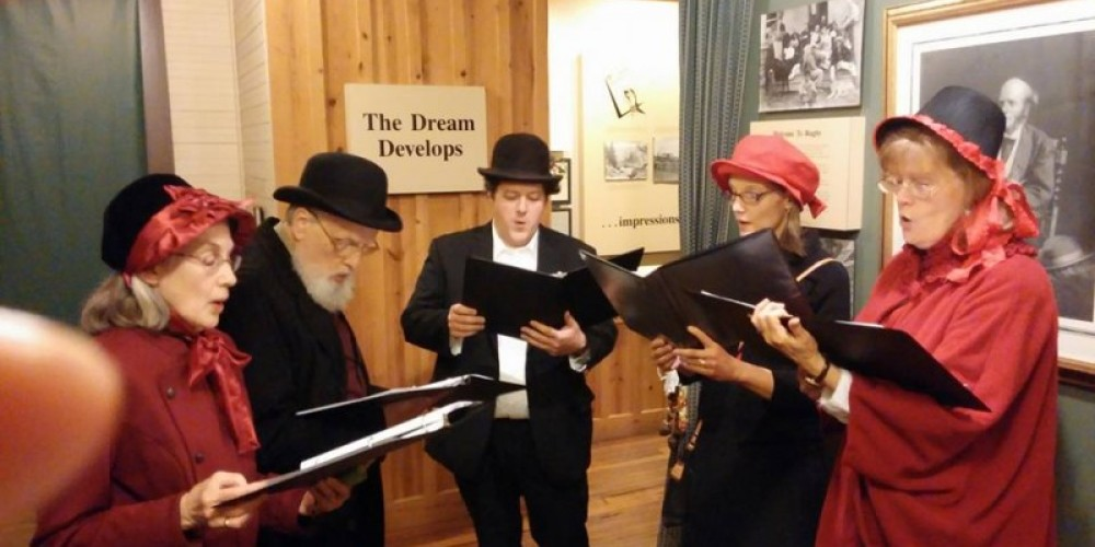 Carolers At our annual Christmas at Rugby event. – Historic Rugby