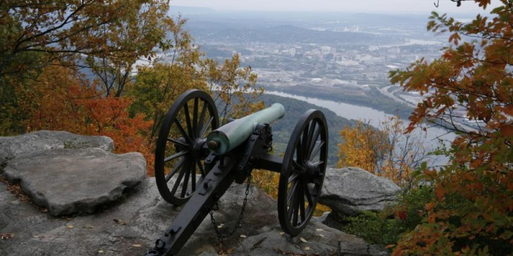 Point Park on Lookout Mountain, Tennessee